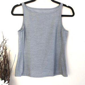 Lululemon workout grey tank top